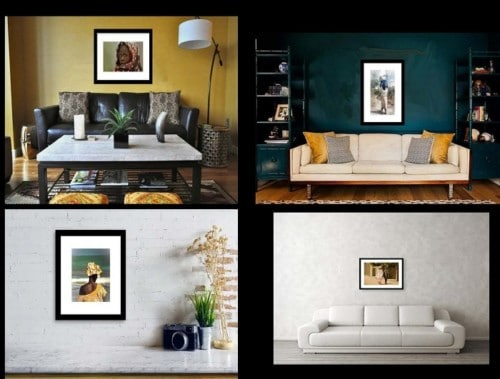 Framed and Matted Prints